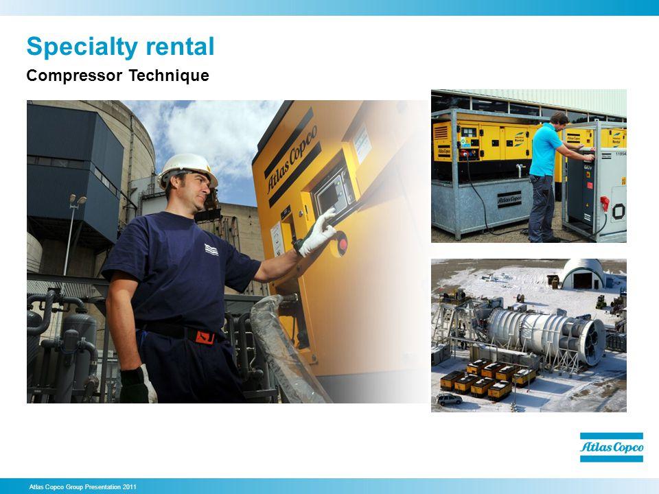 Specialty rental Compressor Technique 28. Specialty rental