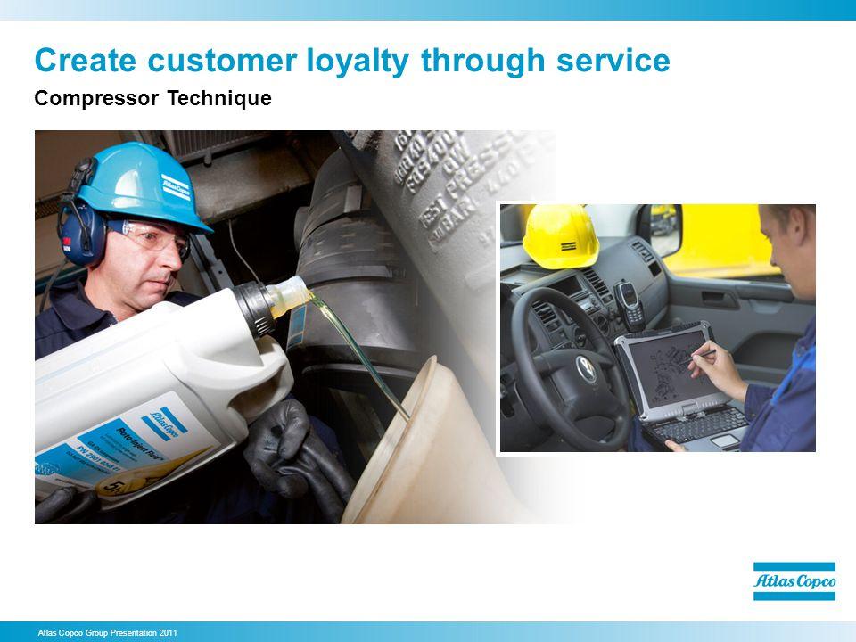 Create customer loyalty through service