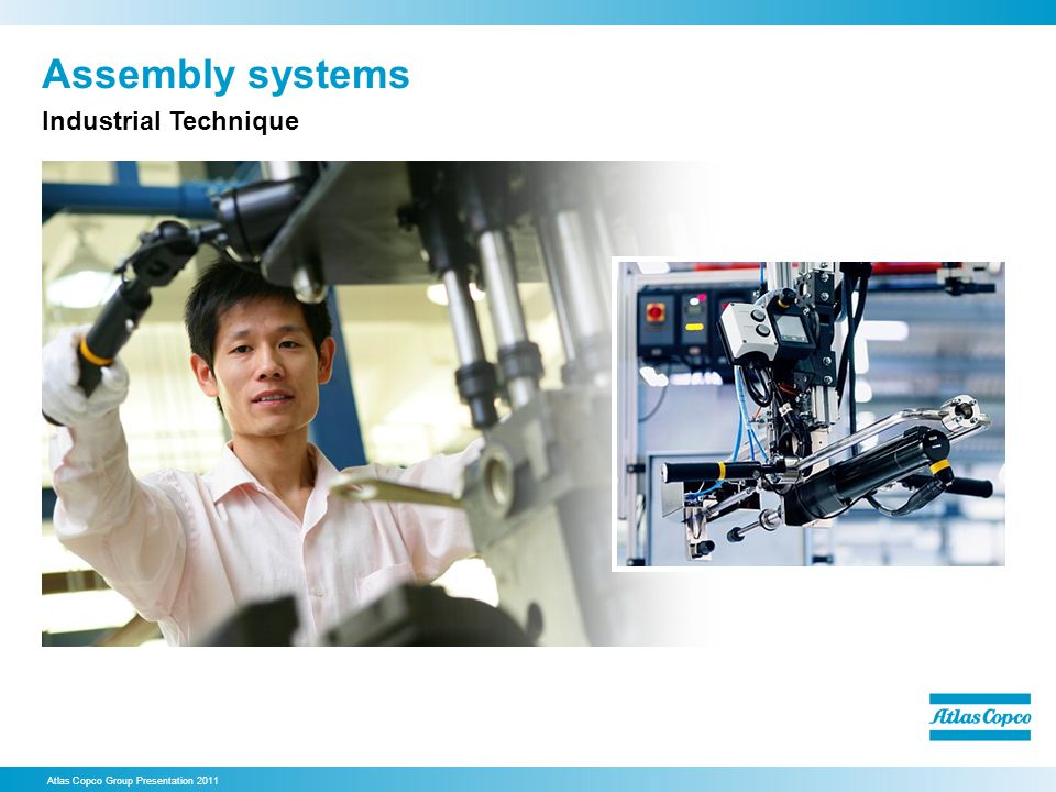 Assembly systems Industrial Technique 33. Assembly systems