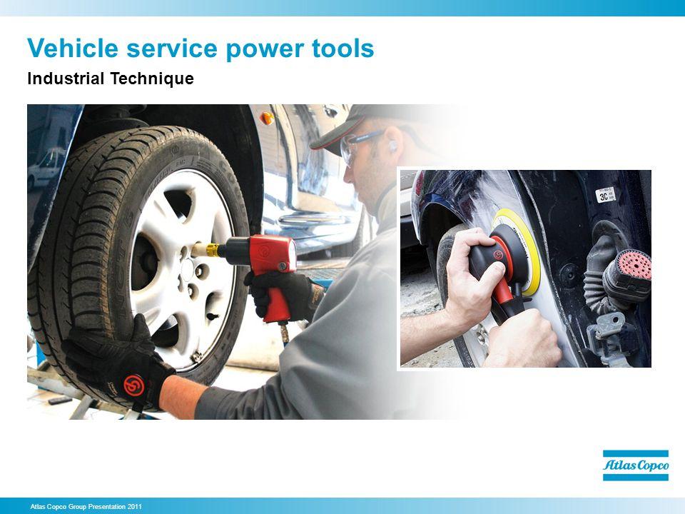 Vehicle service power tools