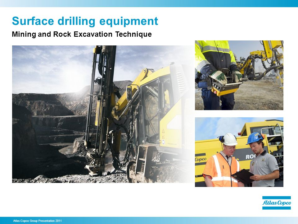 Surface drilling equipment