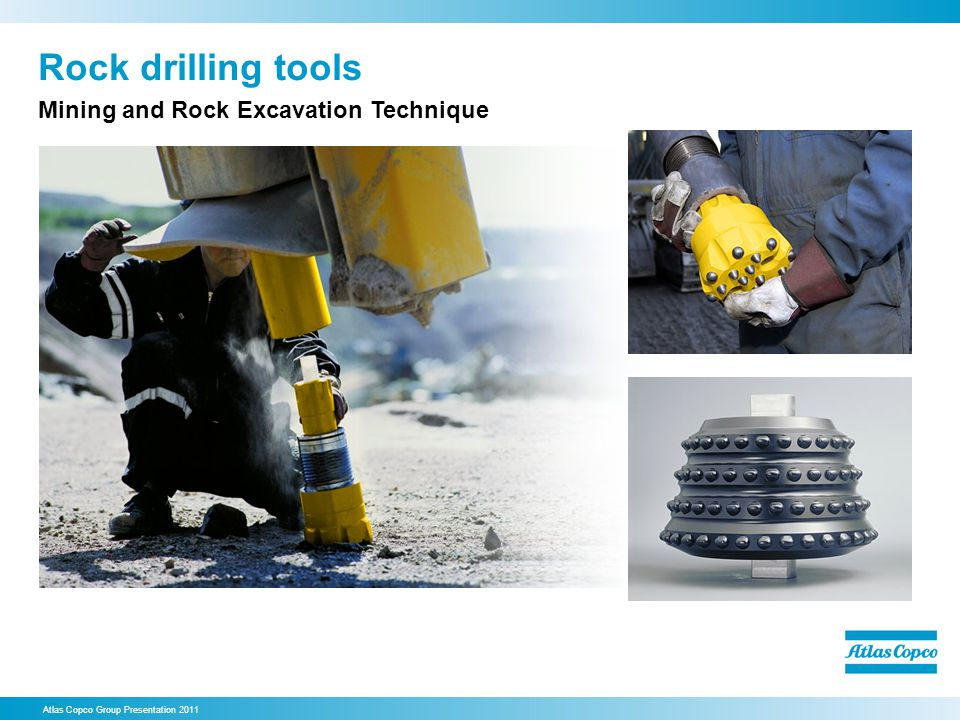 Rock drilling tools Mining and Rock Excavation Technique