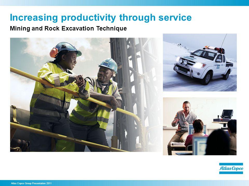 Increasing productivity through service