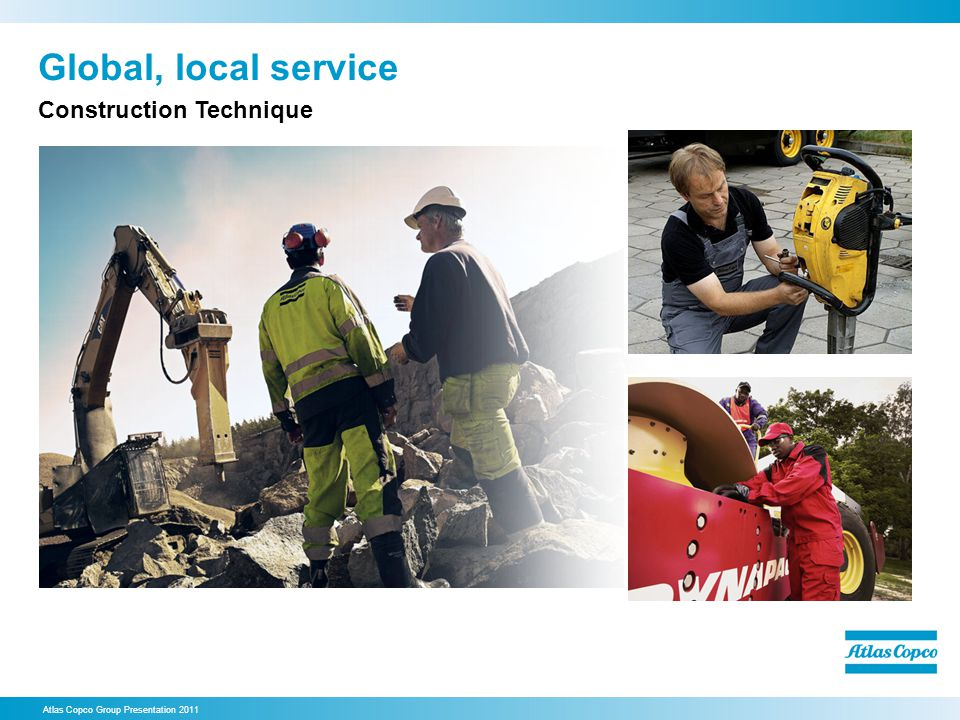 Global, local service Construction Technique 47. Global, local service