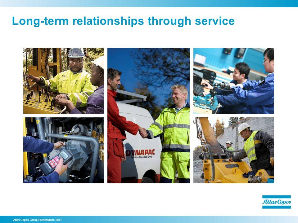 Long-term relationships through service