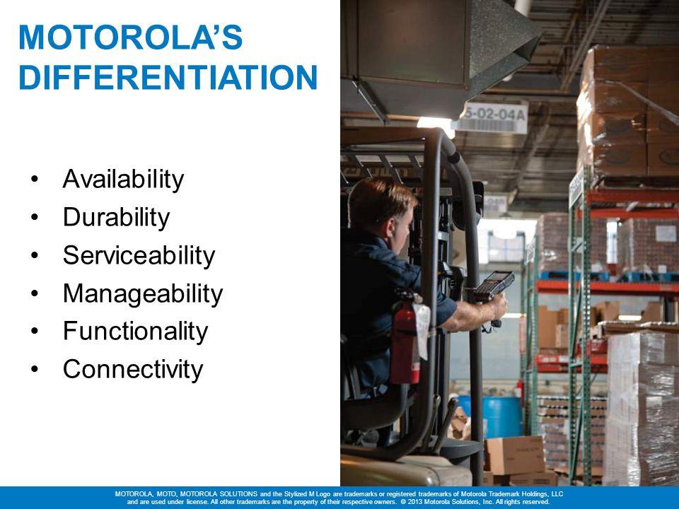 Motorola's Differentiation