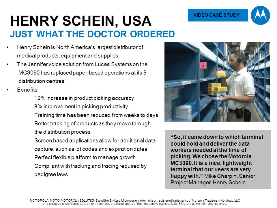 HENRY SCHEIN, USA JUST WHAT THE DOCTOR Ordered