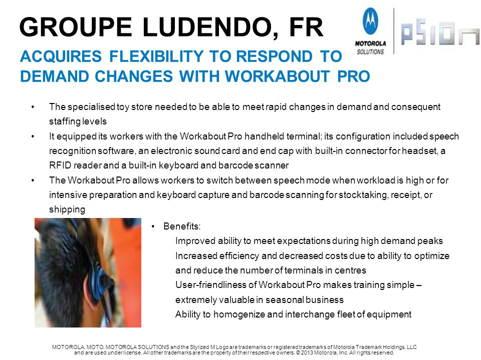 GROUPE LUDENDO, FR acquires flexibility to respond to
