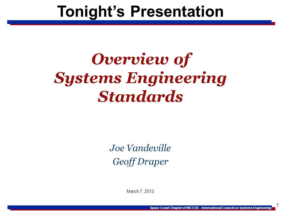 Tonight's Presentation