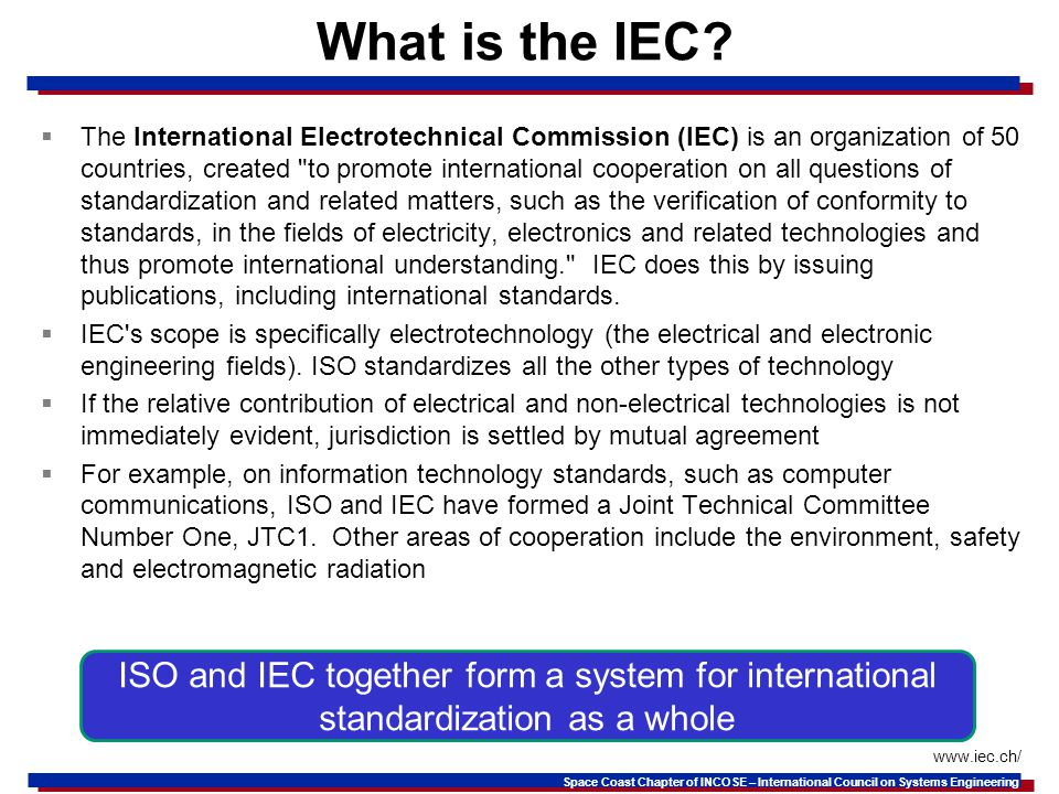 What is the IEC