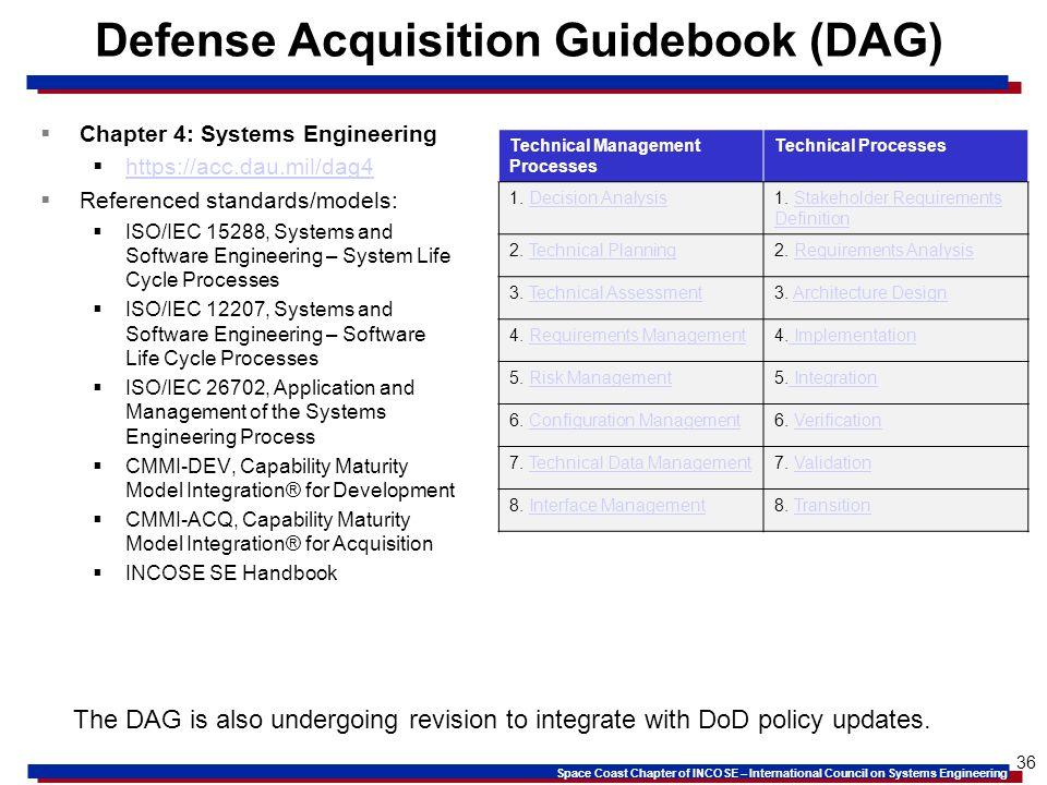 Defense Acquisition Guidebook (DAG)