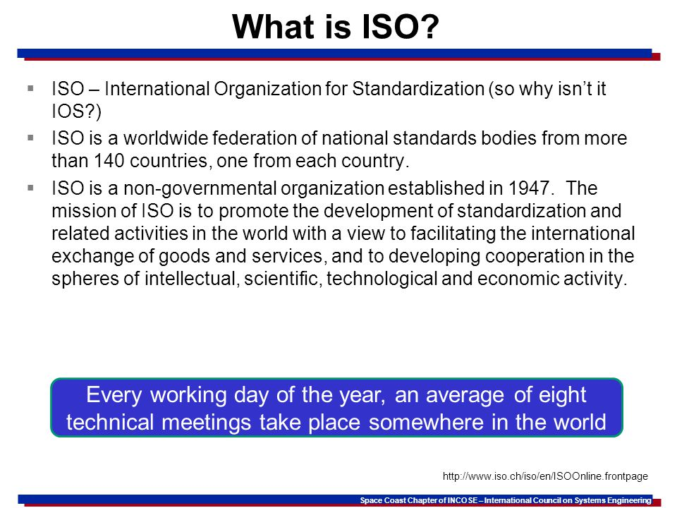 What is ISO ISO – International Organization for Standardization (so why isn't it IOS )