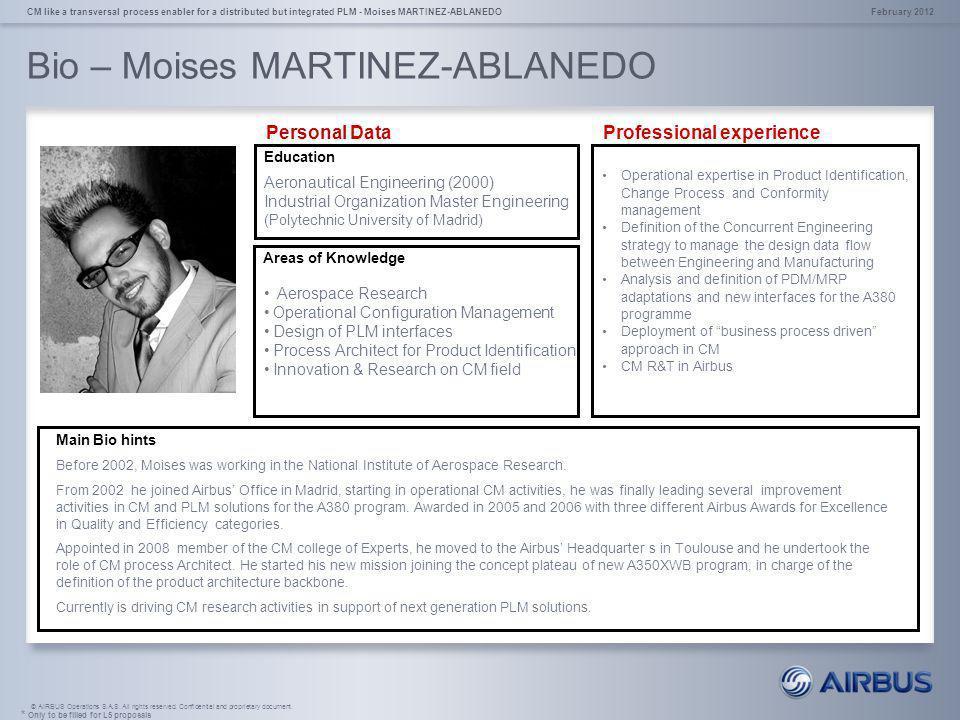 Bio – Moises MARTINEZ-ABLANEDO