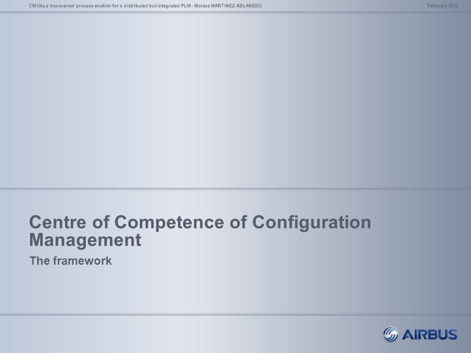 Centre of Competence of Configuration Management