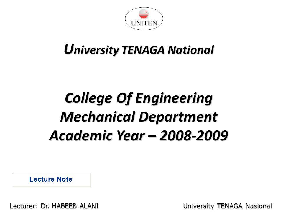 University TENAGA National