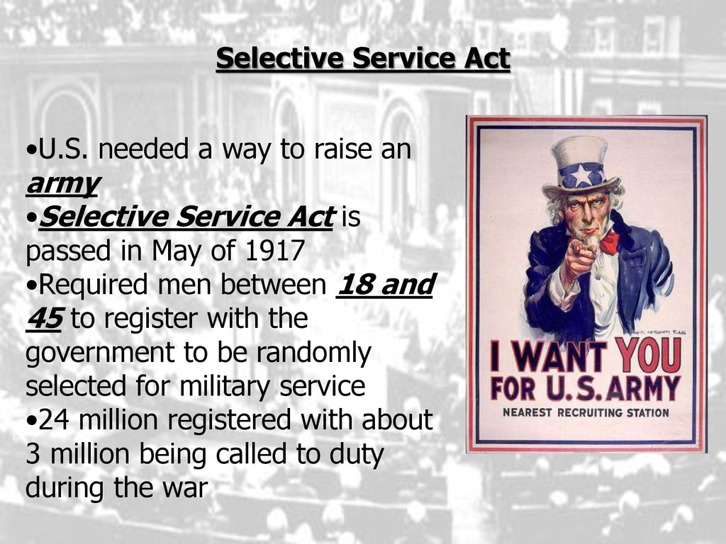 Swbat Describe How Life Changed In America During Wwi Ppt Download
