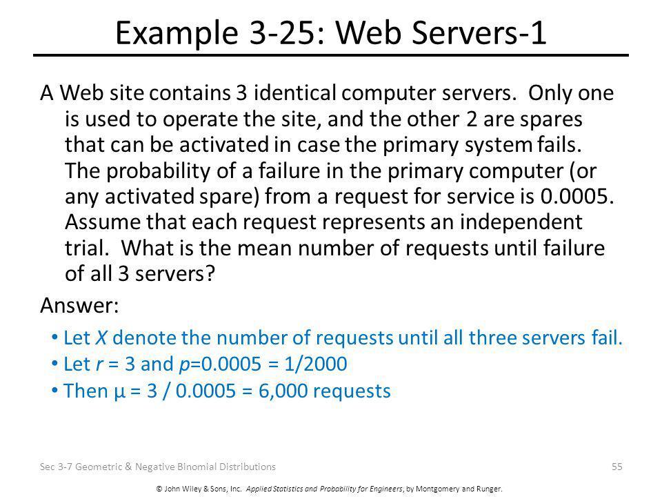 Example 3-25: Web Servers-1