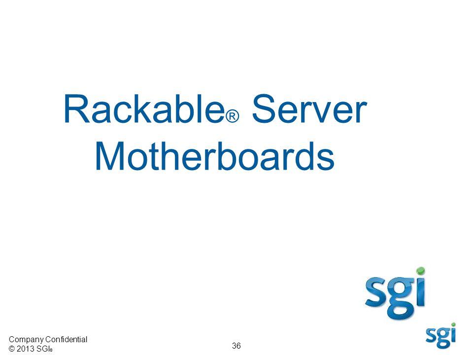 Rackable® Server Motherboards