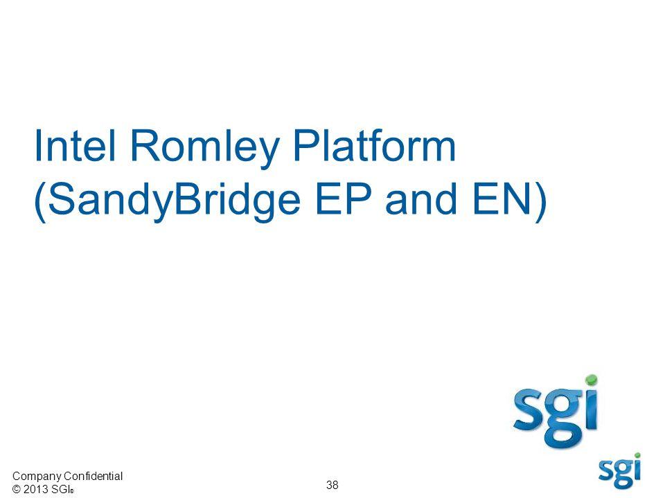 Intel Romley Platform (SandyBridge EP and EN)