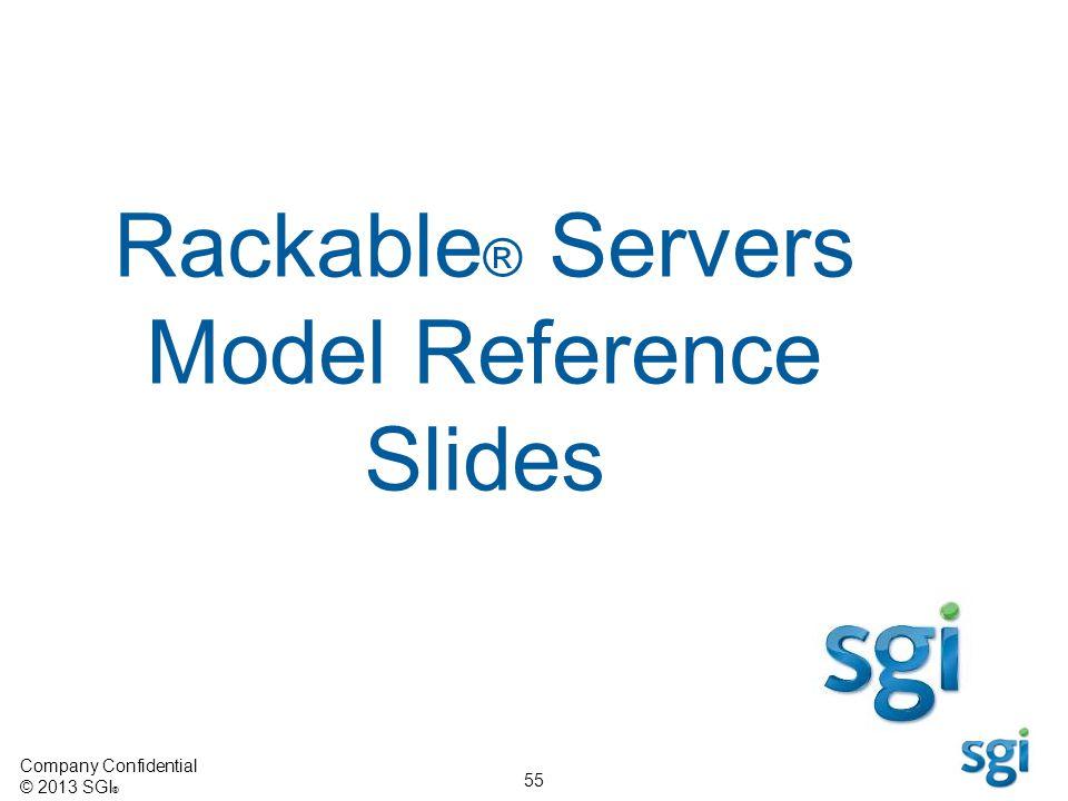 Rackable® Servers Model Reference Slides