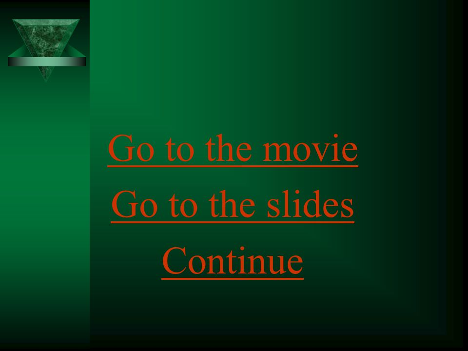 Go to the movie Go to the slides Continue