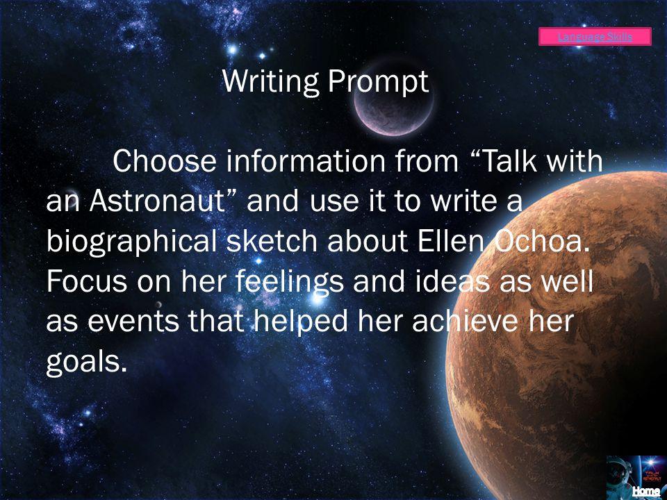 Language Skills Writing Prompt.