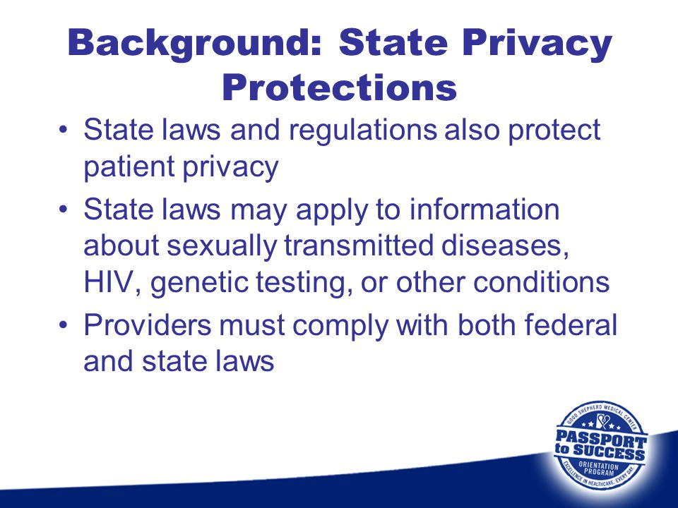 Background: State Privacy Protections