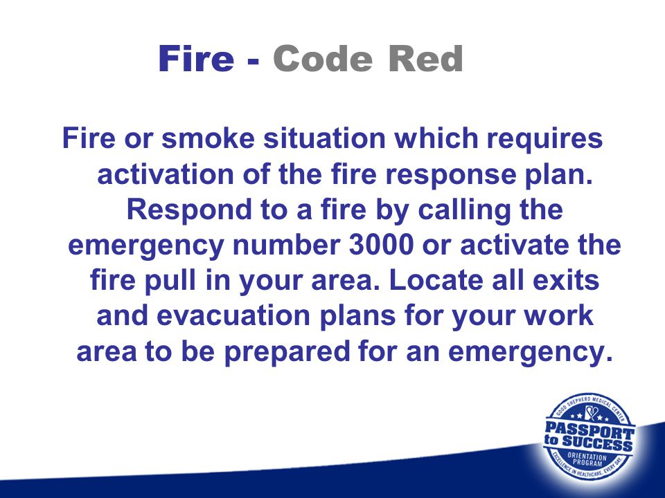 Fire - Code Red