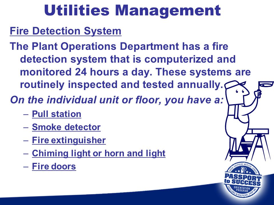 Utilities Management Fire Detection System