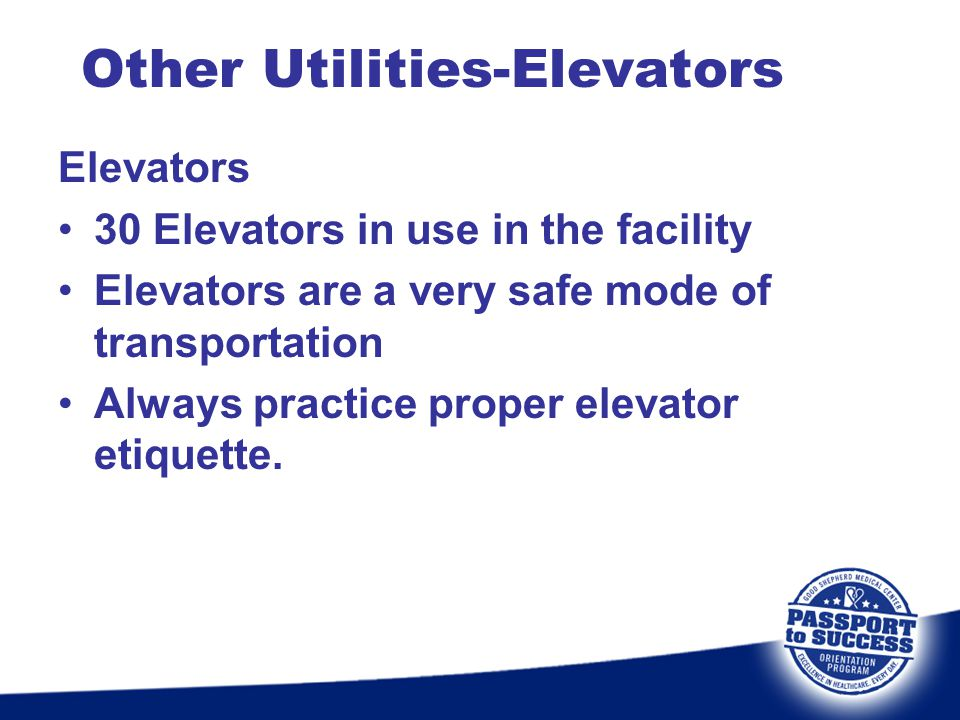 Other Utilities-Elevators