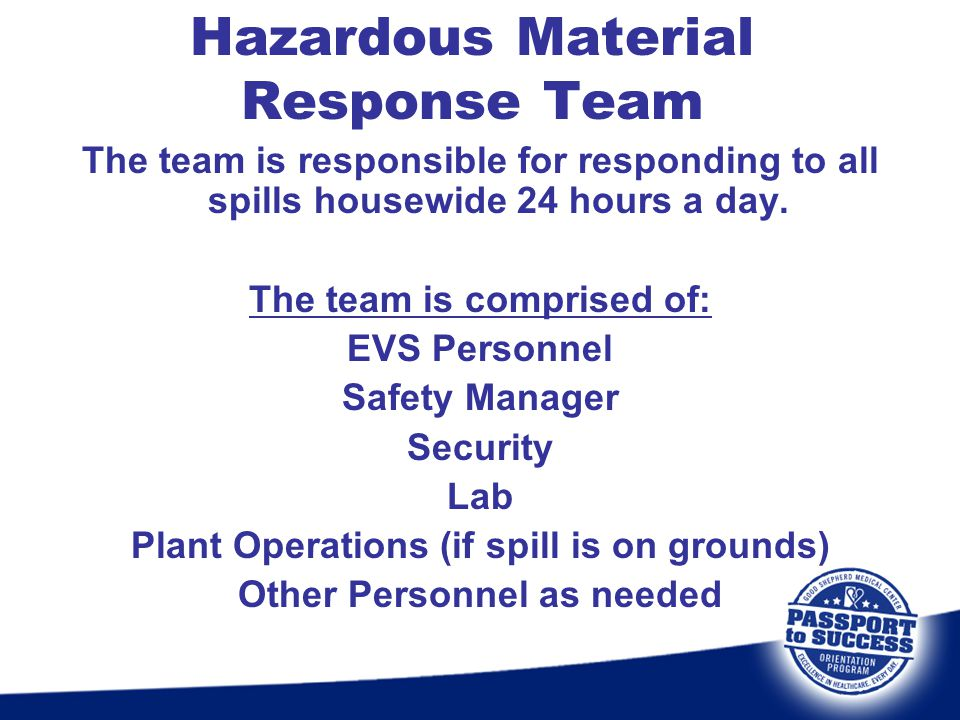 Hazardous Material Response Team