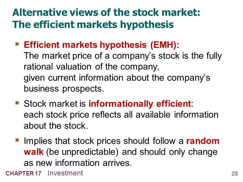 Alternative views of the stock market: Keynes's beauty contest