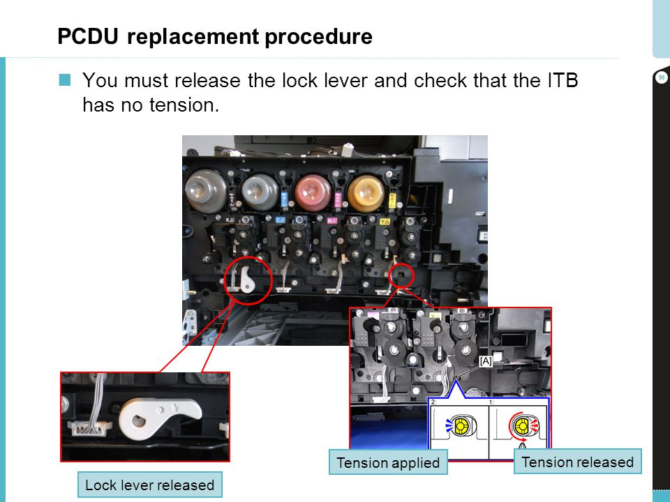 PCDU replacement procedure