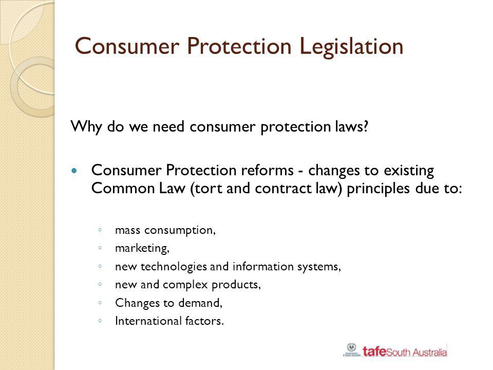 Consumer Protection Legislation