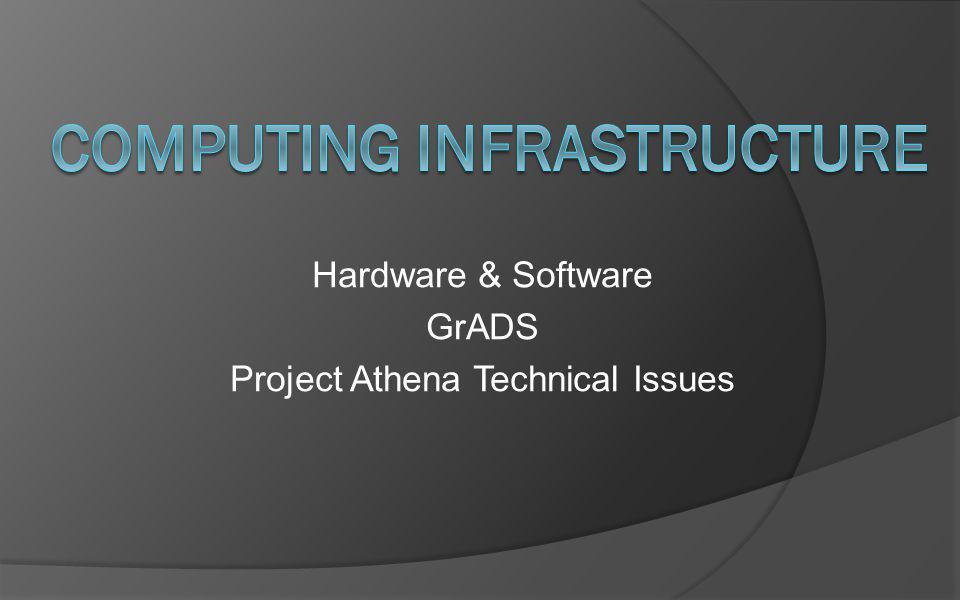 Computing Infrastructure
