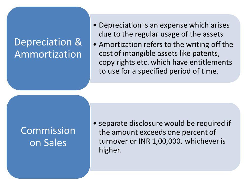 Depreciation & Ammortization