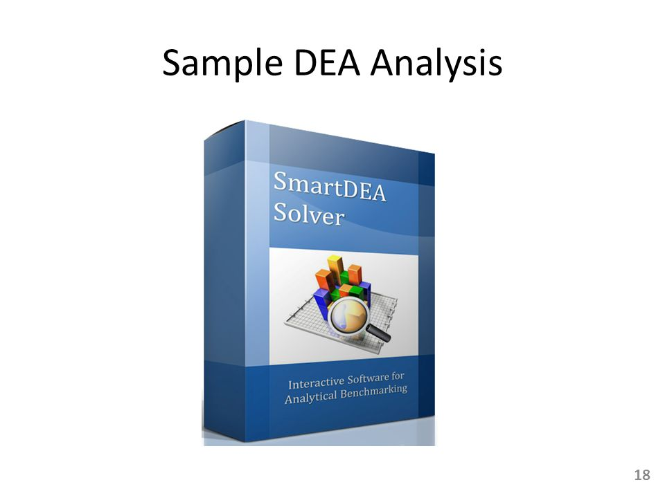 Sample DEA Analysis