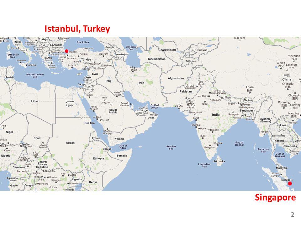 Istanbul, Turkey Singapore