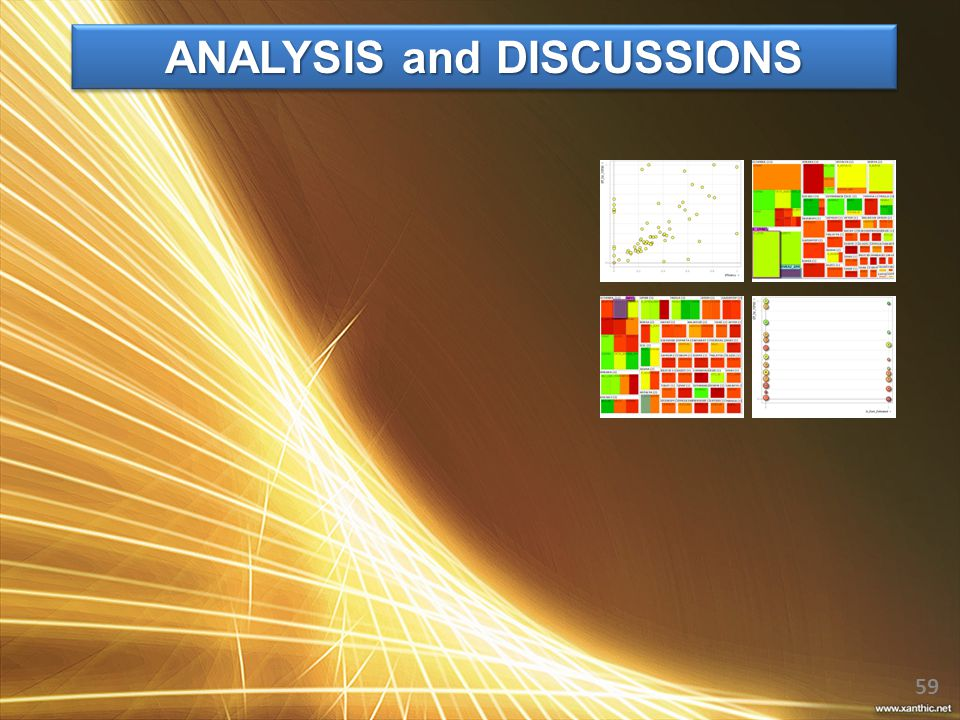 ANALYSIS and DISCUSSIONS