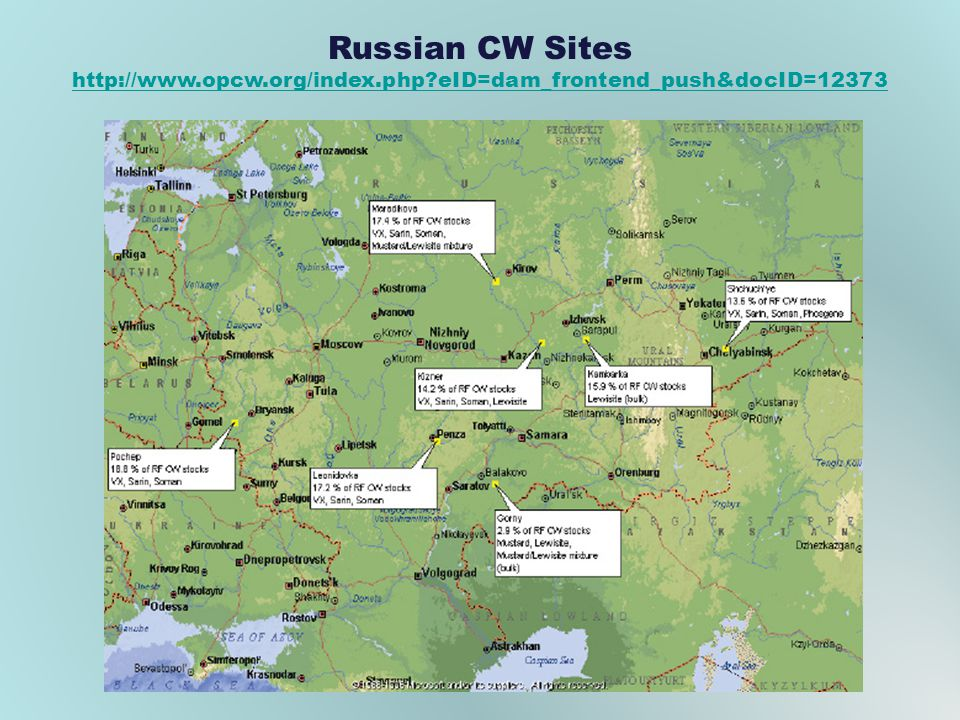 Russian CW Sites http://www.opcw.org/index.php eID=dam_frontend_push&docID=12373