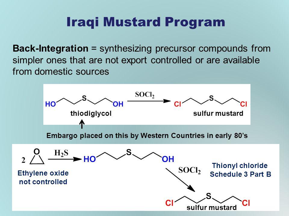 Iraqi Mustard Program