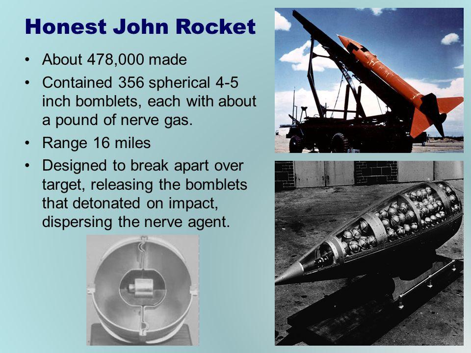 Honest John Rocket About 478,000 made