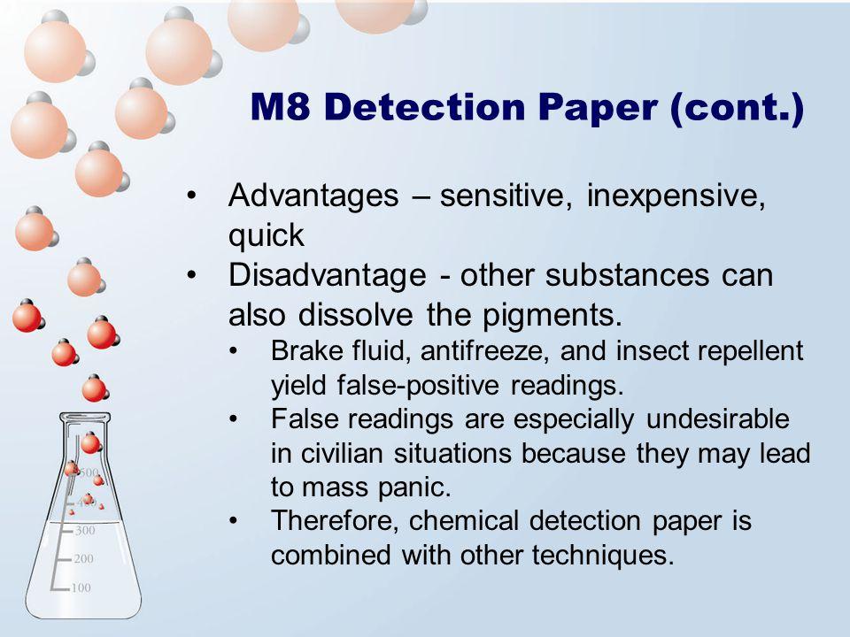 M8 Detection Paper (cont.)
