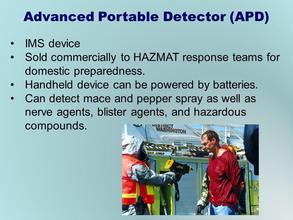 Advanced Portable Detector (APD)