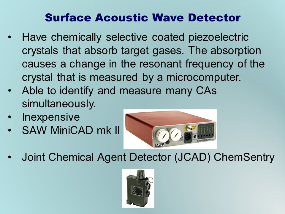 Surface Acoustic Wave Detector