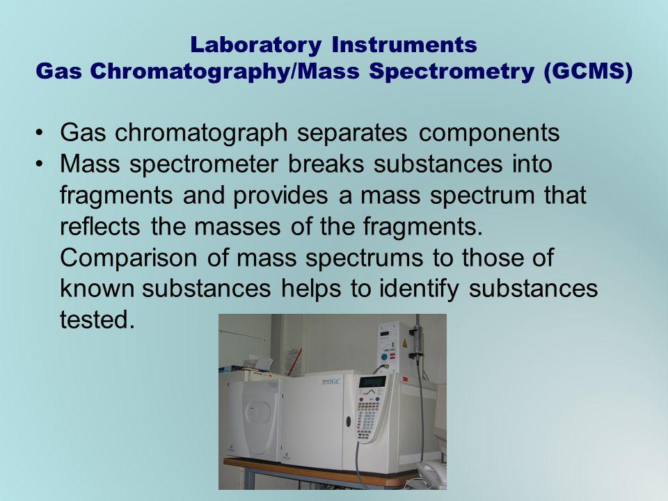Laboratory Instruments Gas Chromatography/Mass Spectrometry (GCMS)