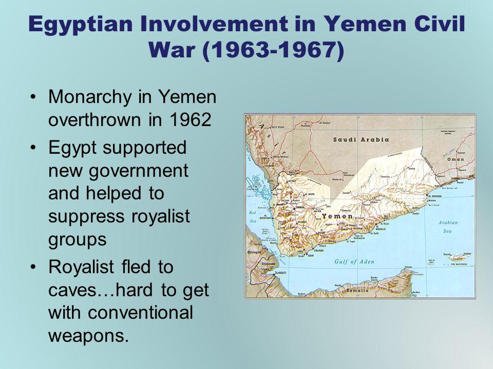 Egyptian Involvement in Yemen Civil War (1963-1967)