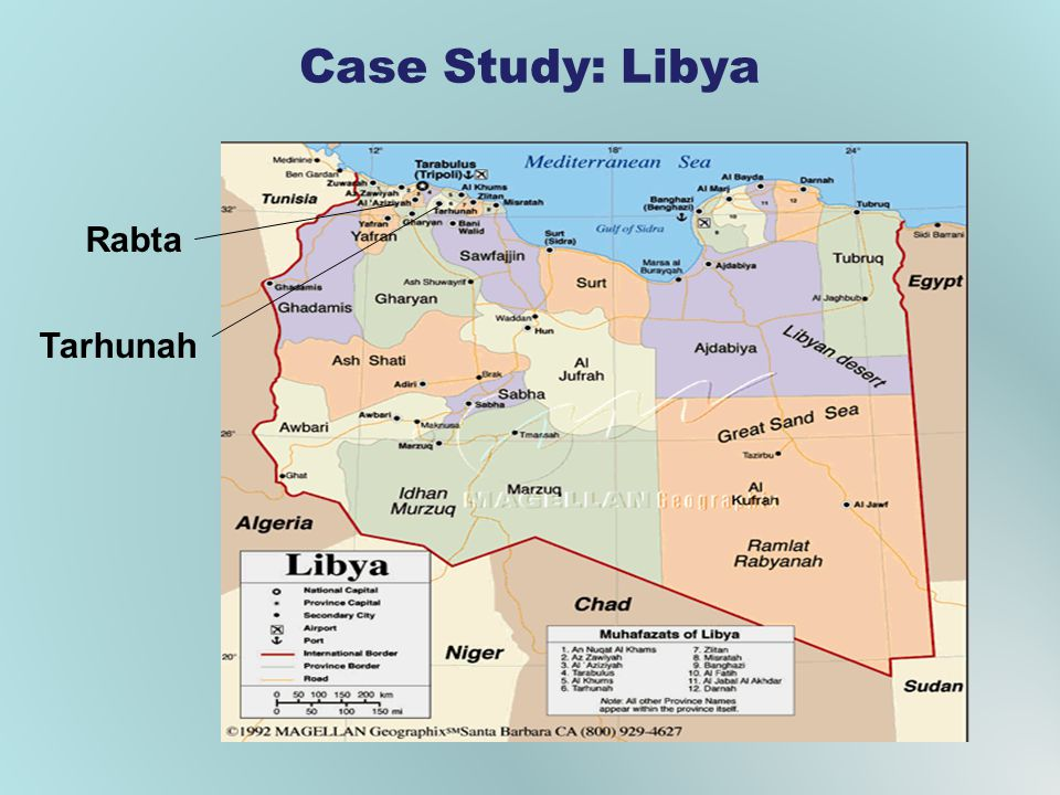 Case Study: Libya Rabta Tarhunah