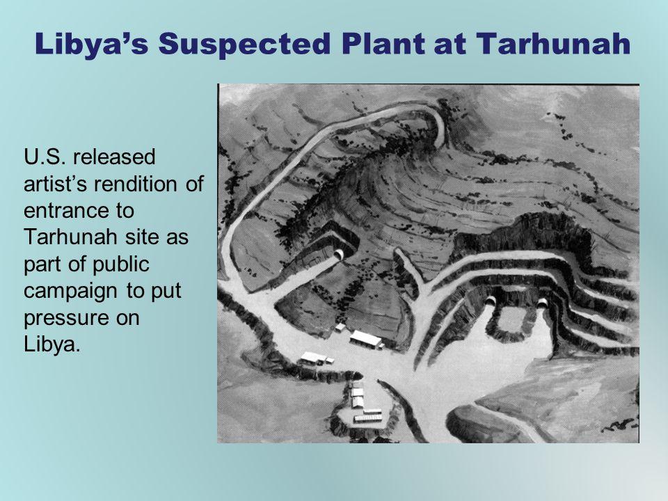 Libya's Suspected Plant at Tarhunah