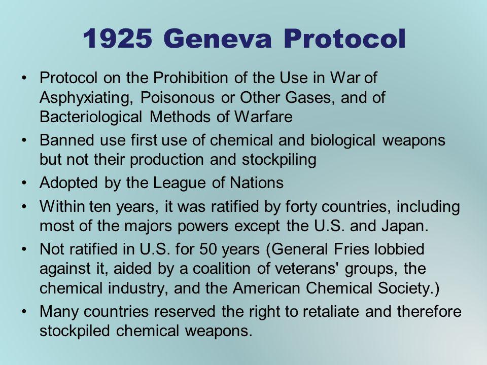 1925 Geneva Protocol